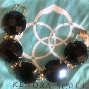 Kendra Scott Black Cassie Bracelet